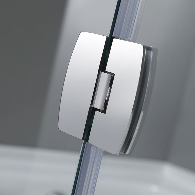 Aston Frameless Pivot Tub-Height Shower Door 4