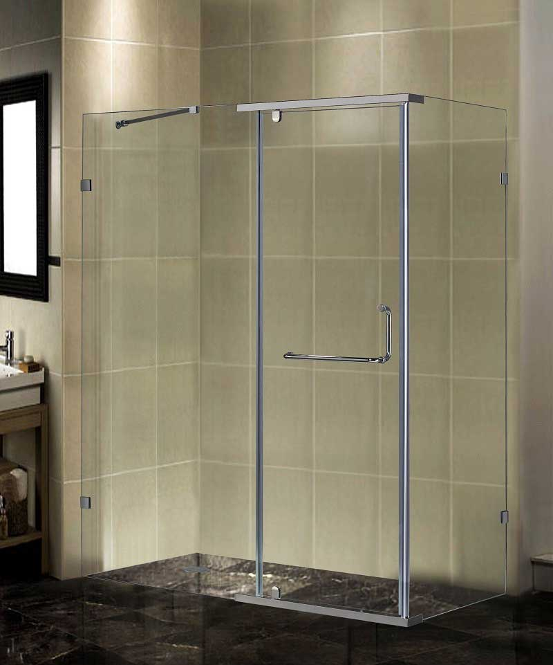 Aston Semi-Frameless Rectangular Shower Enclosure