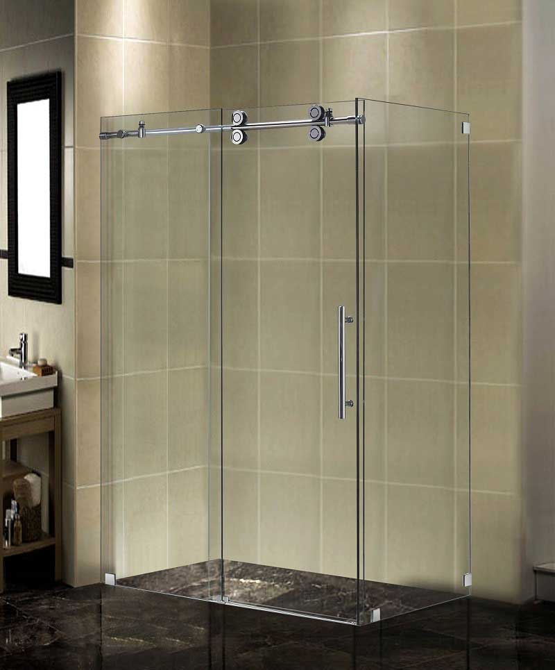 Aston Completely Frameless Sliding Shower Door Enclosure