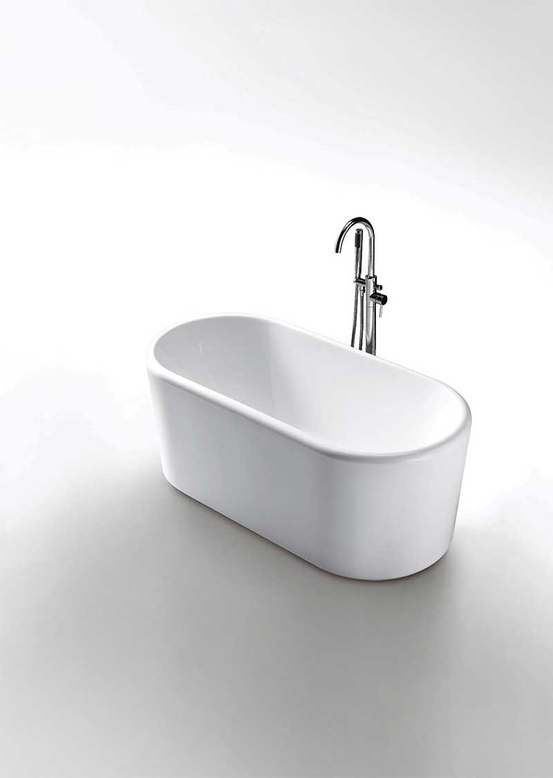 Virtu USA Serenity VTU-2267 67 x 27.5 Freestanding Soaking Tub 2