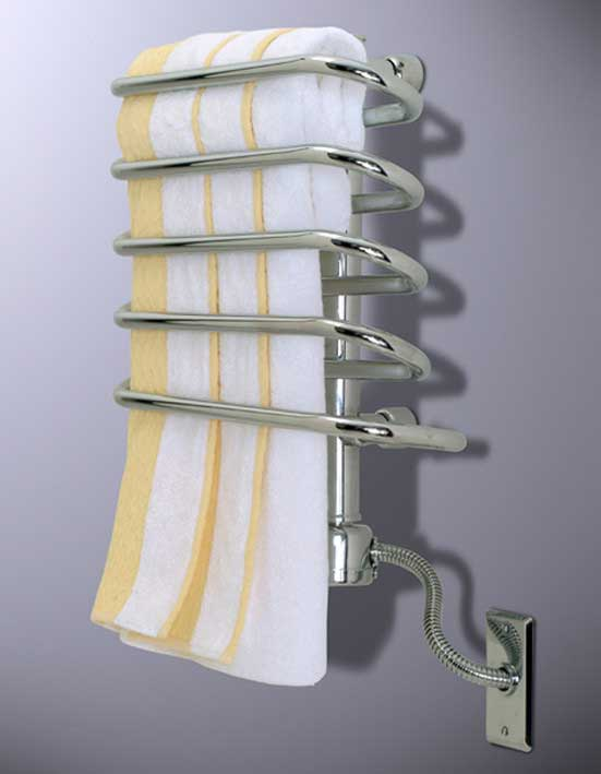"Wesaunard Boz Roqoqo 17.7"" Wall Mount Electric Towel Warmer"