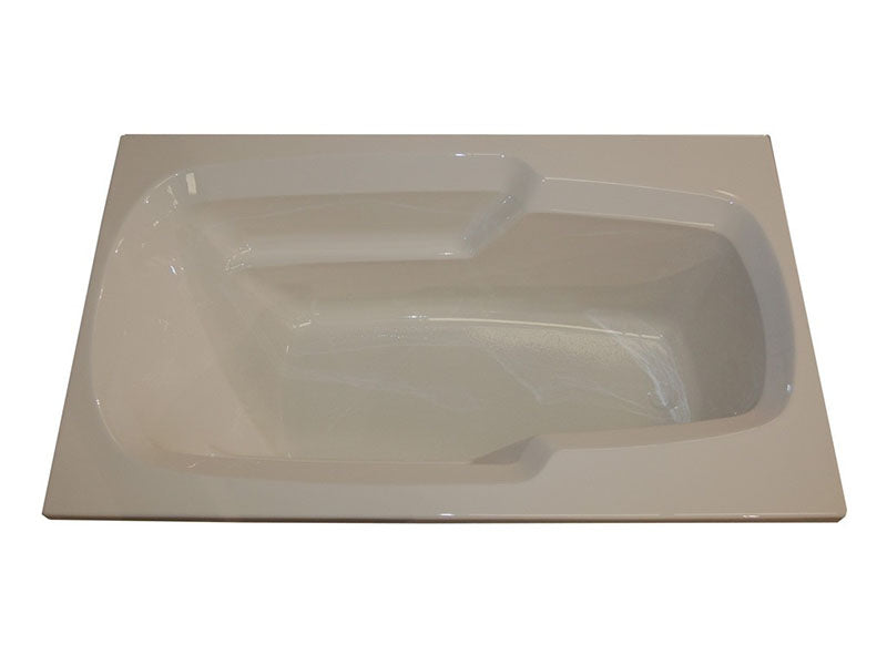"American Acrylic 60"" x 36"" Arm-Rest Salon Spa"