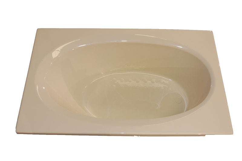 "American Acrylic 72"" x 42"" Air Tub"