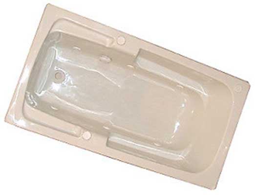 "American Acrylic 60"" x 32"" Arm-Rest Air Tub"