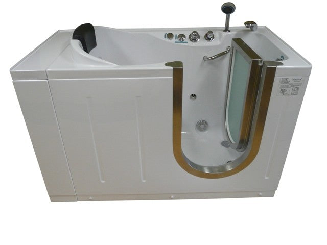 "Steam Planet 59"" x 30"" Walk-In Tub with Heated Air Jets"