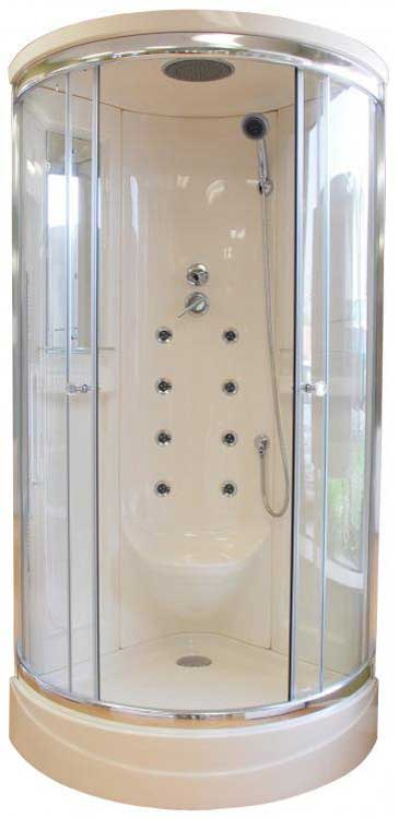 Steam Planet Neo-Angle Door Shower Enclosure with Body Jets