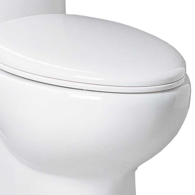 Ariel Bath Hermes Contemporary Elongated 1 Piece Toilet 6