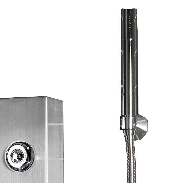 "Ariel Bath Stainless Steel 72"" Thermostatic Shower Panel 4"