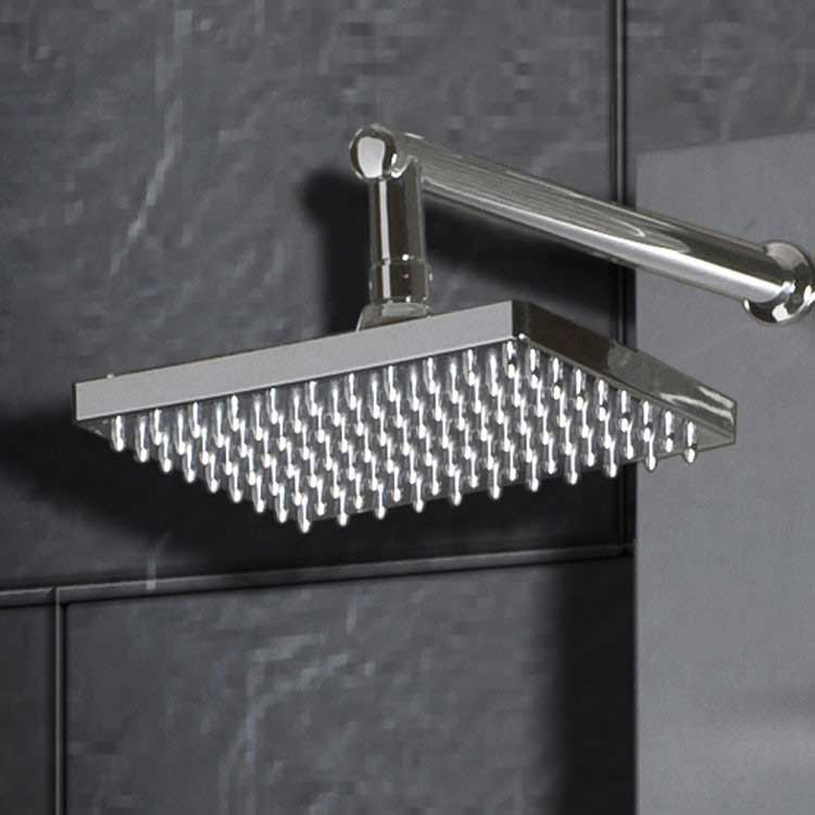 "Ariel Bath Stainless Steel 70"" Thermostatic Shower Panel 6"