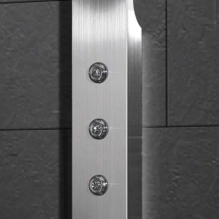 Ariel Bath Stainless Steel Thermostatic Shower Panel 3