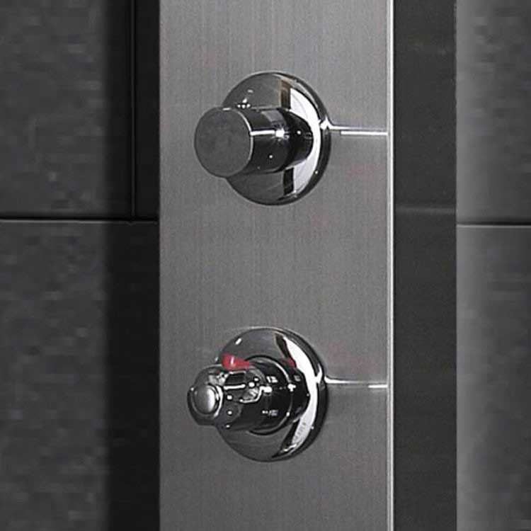 Ariel Bath Stainless Steel Thermostatic Shower Panel 4