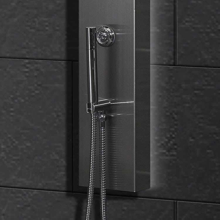 Ariel Bath Stainless Steel Thermostatic Shower Panel 5
