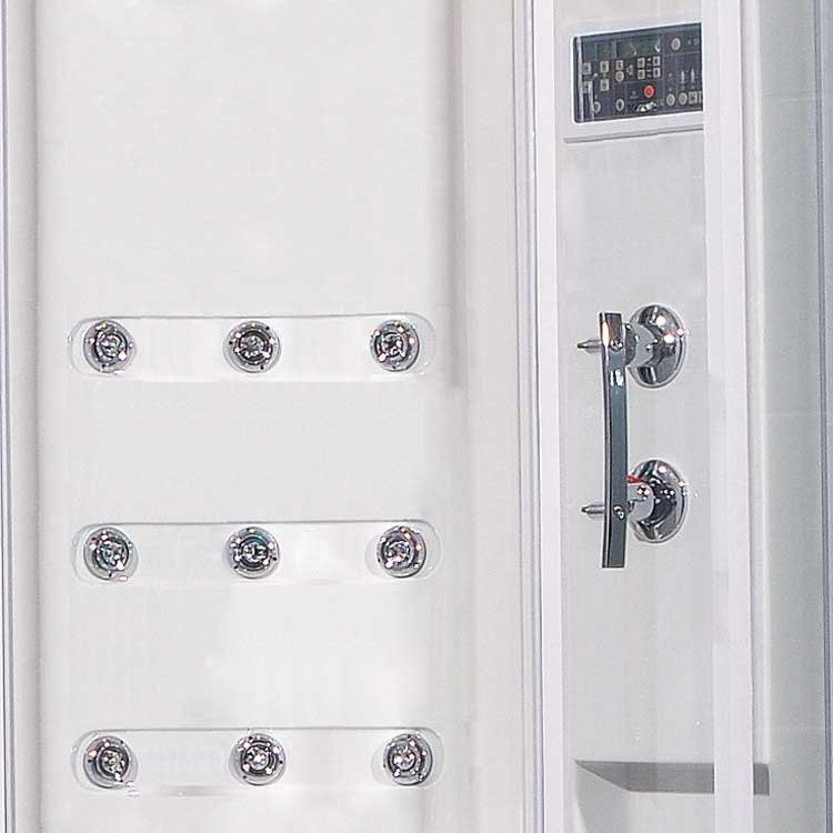 "Ariel Bath Sliding Door 85"" x 40"" x 40"" Steam Sauna Shower with Bath Tub 6"