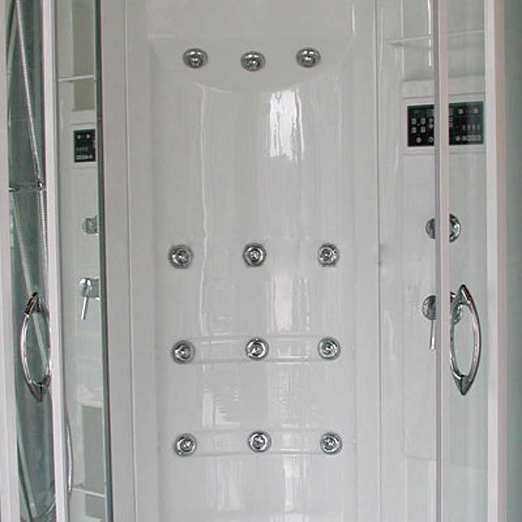 "Ariel Bath Sliding Door 85"" x 40"" x 40"" Steam Sauna Shower with Bath Tub 7"