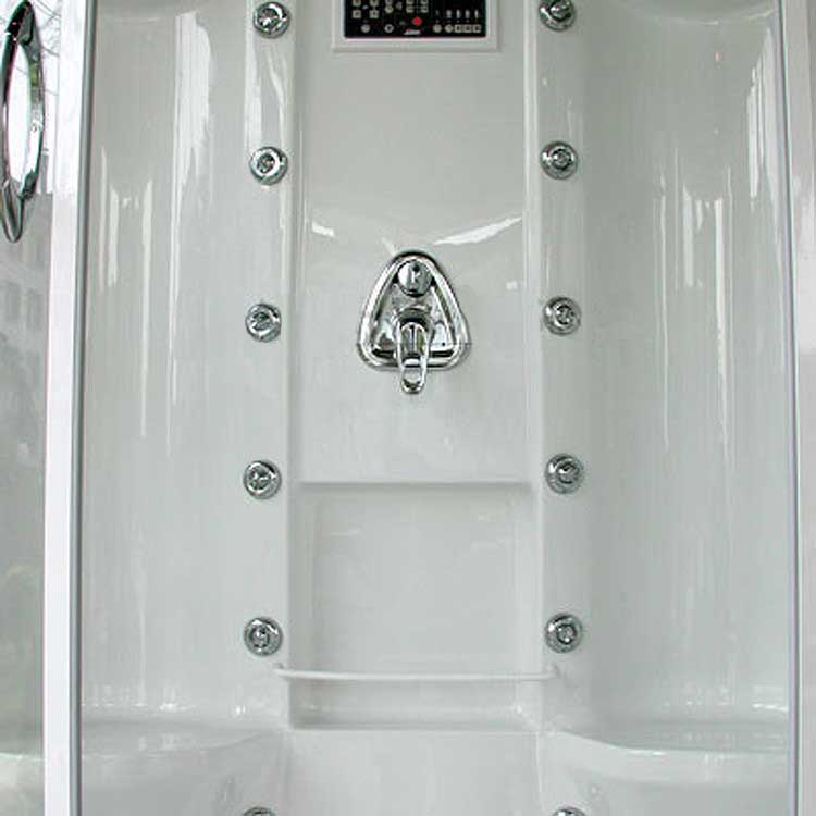 "Ariel Bath Sliding Door 85"" x 56"" x 38"" Steam Shower with Right Side Configuration 5"