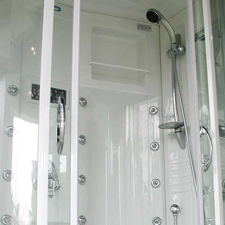 "Ariel Bath Sliding Door 85"" x 56"" x 38"" Steam Shower with Right Side Configuration 6"