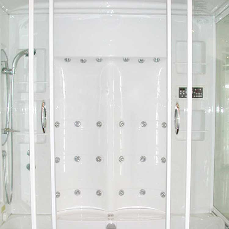 Ariel Bath Sliding Door Steam Shower with Bath Tub with Left Side Configuration 5