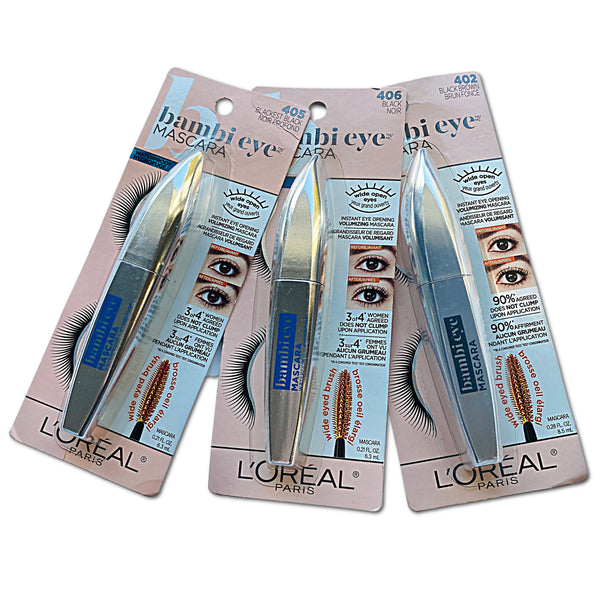 L'OREAL PARIS Bambi Eye Mascara Waterproof Hydrofuge (NEW)
