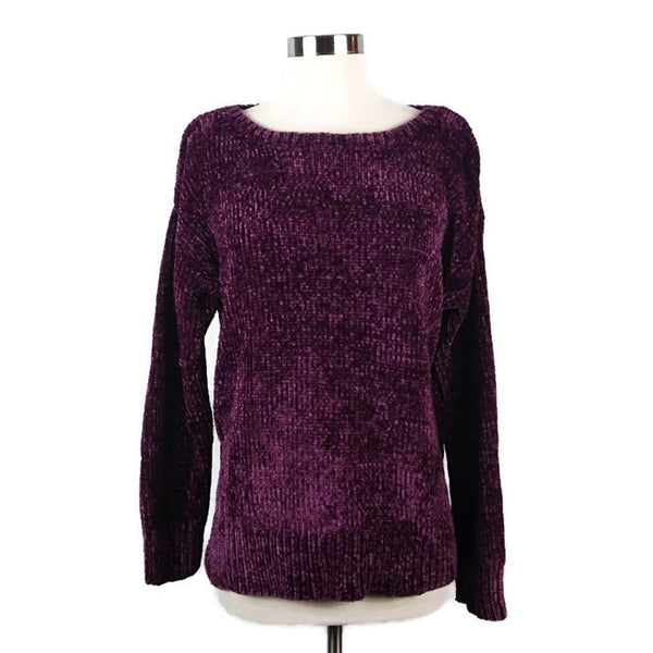 JONES NEW YORK, Berry Colored Sweater - Evonnistore