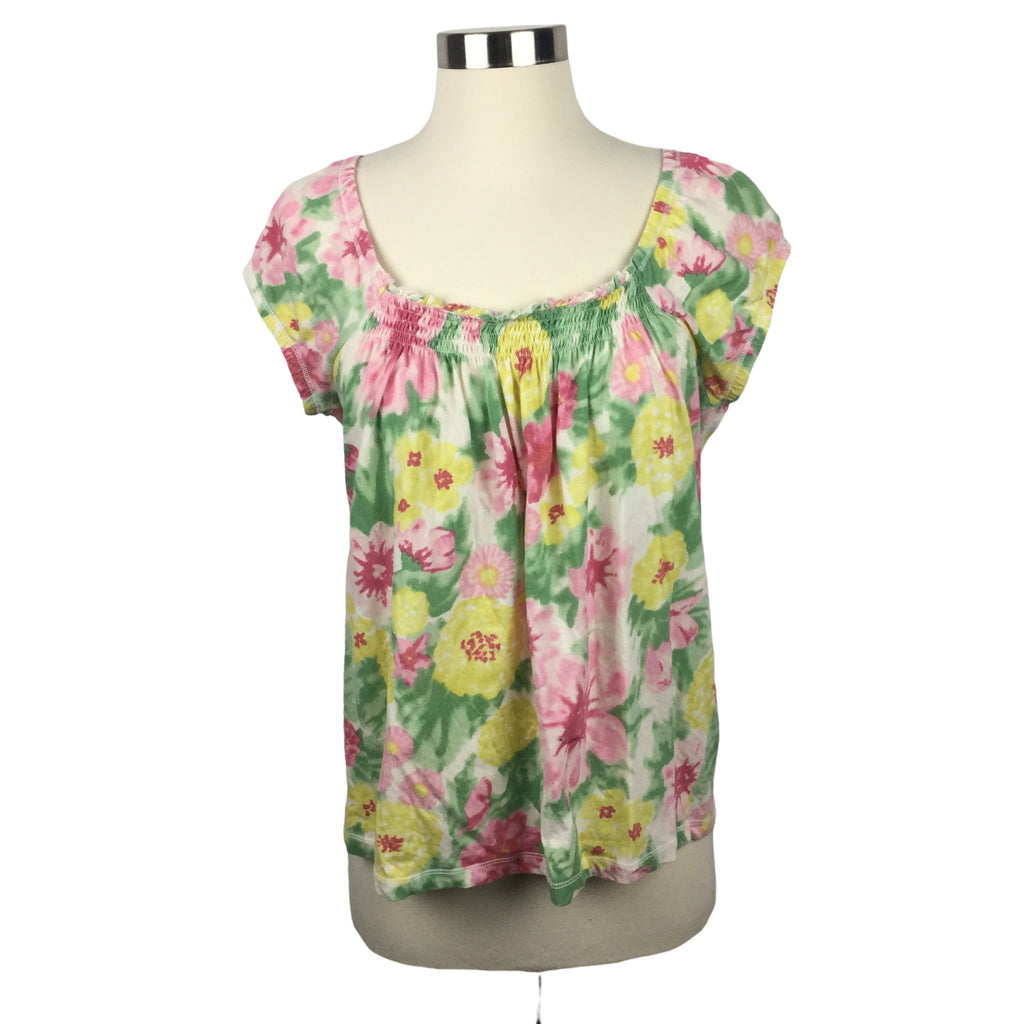 CAROLYN TAYLOR Flower top (Pre-Loved)