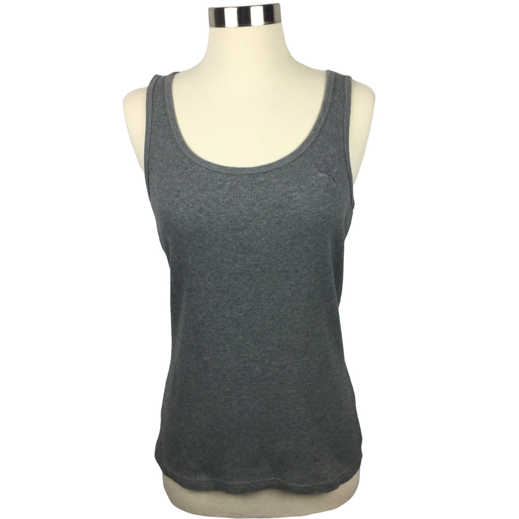 PUMA ribbed Grey Tank top (Pre-loved)