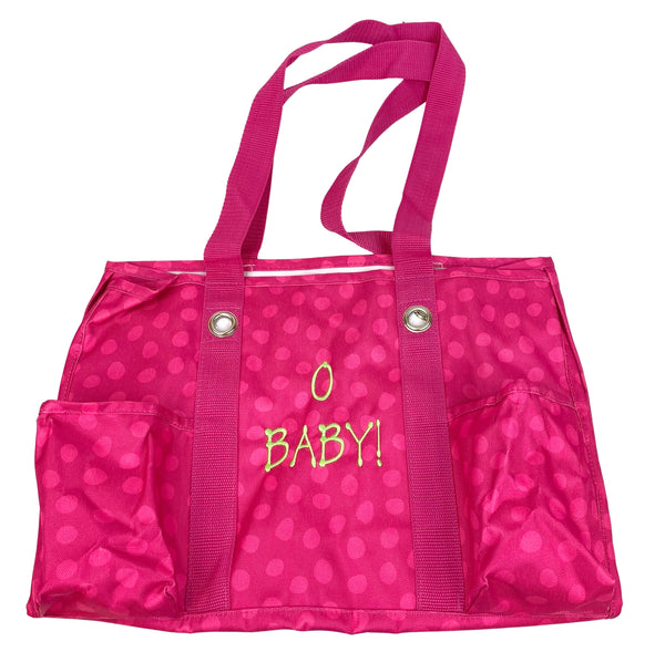 "THIRTY-ONE ""O BABY"" Baby Diaper Bag or Utility Tote with 7 pockets. (New)"