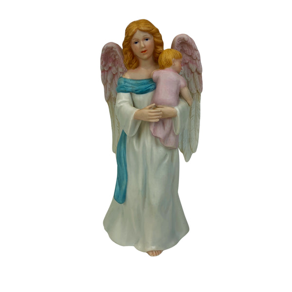 HOMCO Vintage Angel holding Baby Figurine (pre-Loved)