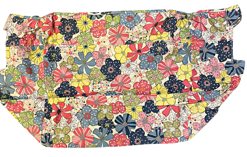 "THIRTY ONE Large Organizing Basket LINER ""Free Spirit Floral"" (New in Bag)"