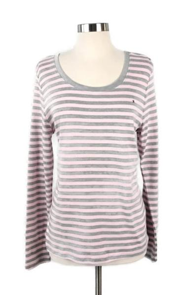 TOMMY HILFIGER, Striped Top - Evonnistore