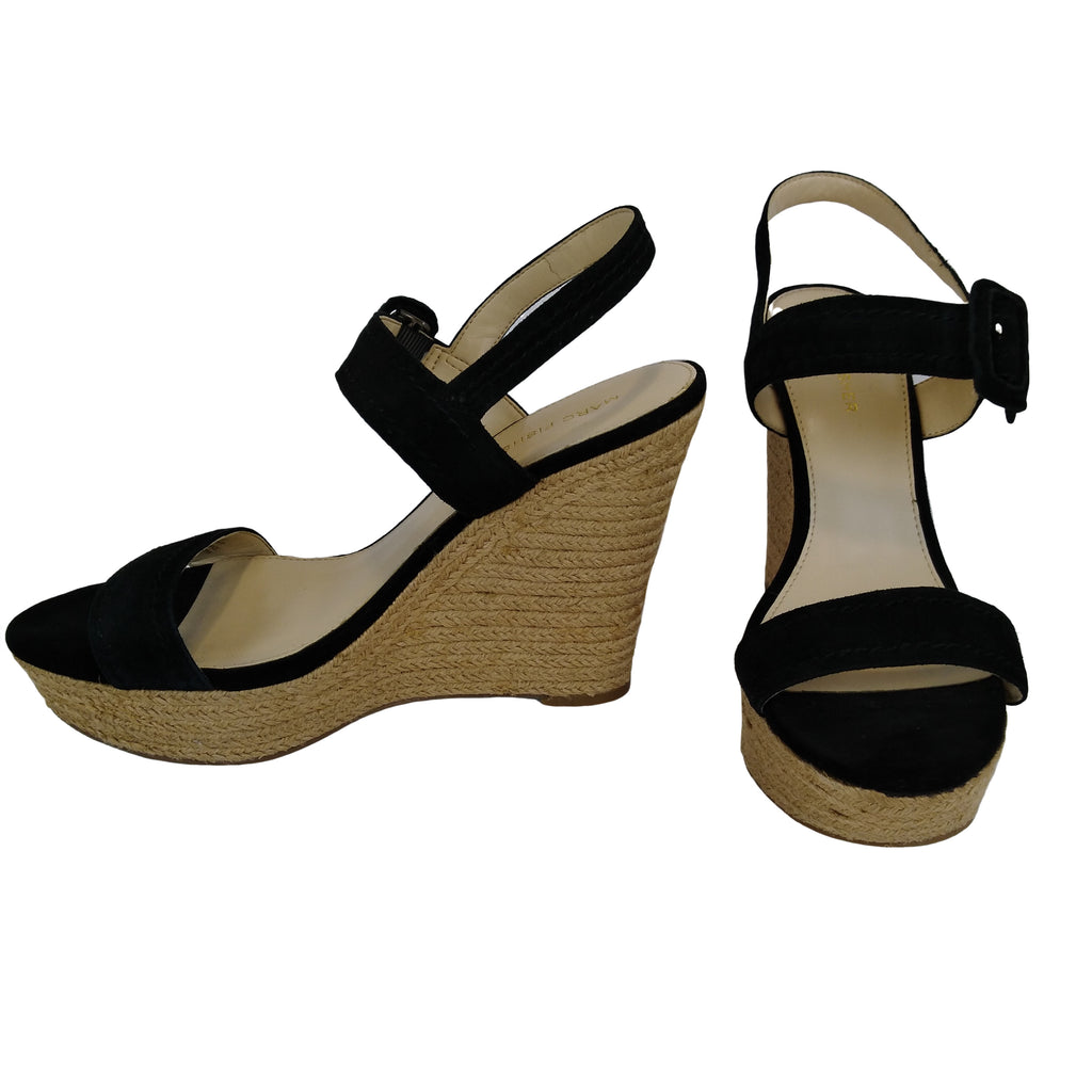 MARC FISHER Espradrille Wedge Sandals (Pre-Loved) - Evonnistore