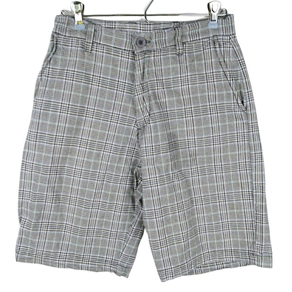 Burnside Plaid Shorts Mens (pre-loved) - Evonnistore