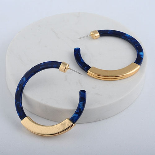 Beautiful Bohemian Hoop Earrings - Evonnistore