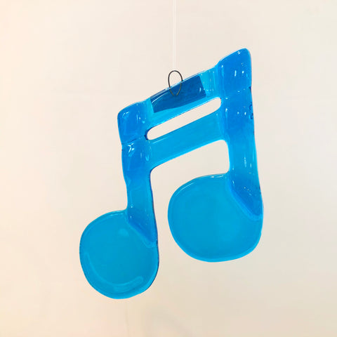 Musical Notes in Glass