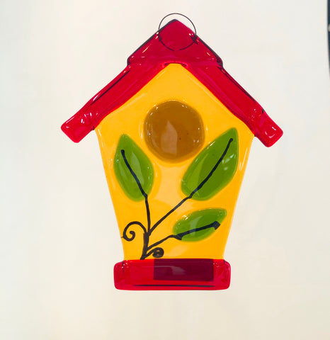 Hanging Bird House Ornament