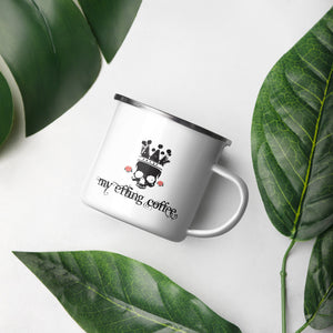 Enamel Mug 12oz - Effing Coffee