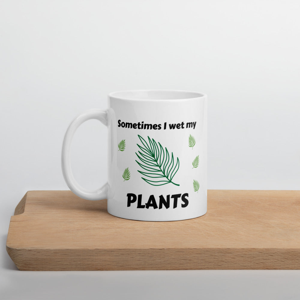 Mug 11oz - Wet My Plants