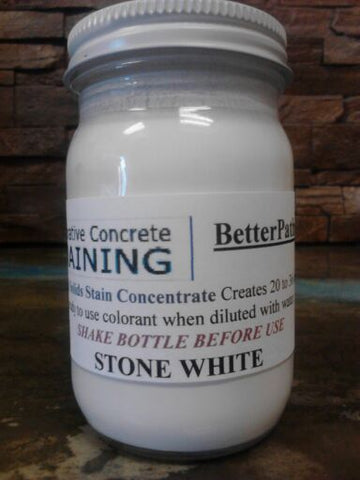 SBC Concrete Acrylic Colorants-White-32oz