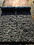 CONCRETE TEXTURE ROLLERS - LARGE WEATHERED SLATE GRANITE TEXTURE ROLLER - LIVELY, CLEAN, CLASSY & EXTREMELY PRISTINE TEXTURES