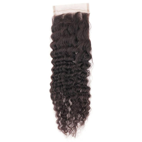 Brazilian Afro Kinky Curly Closure