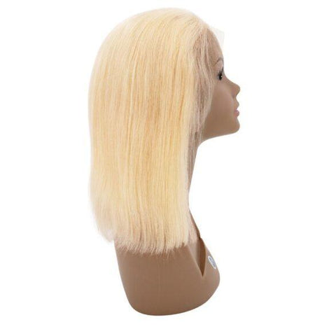 Russian Blonde Bob Front Lace Wig
