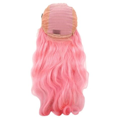 Fantasy Pink Front Lace Wig