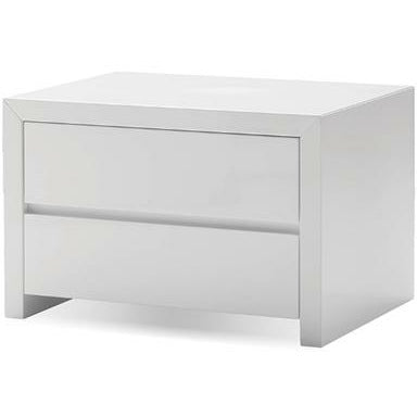 Blanche Two-Drawer Night Table - Modern Studio Furniture