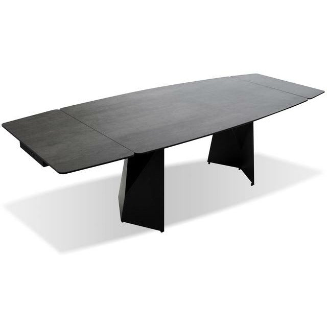 PRISM DINING TABLE INDUSTRIAL GREY - Modern Studio Furniture