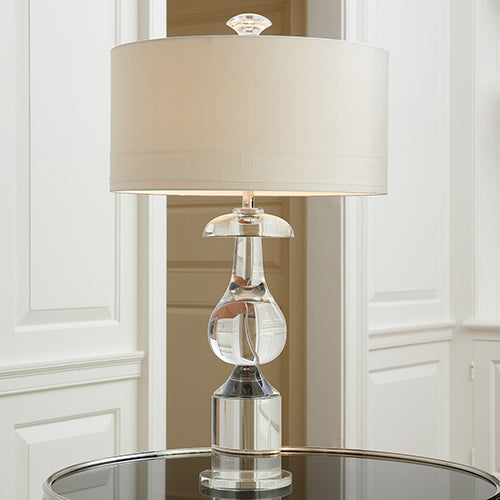 Classic Bulb Crystal Table Lamp - Modern Studio Furniture