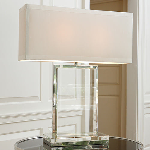 Crystal Slab Table Lamp - Modern Studio Furniture