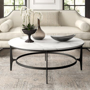 Avondale Round Metal Cocktail Table - Modern Studio Furniture