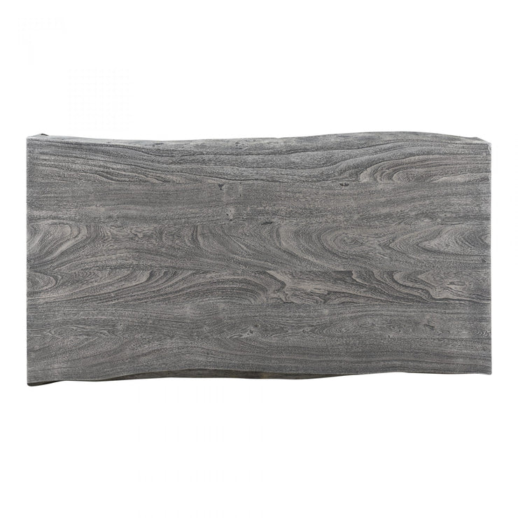 Organic Grey Slab Coffee Table - Modern Studio Furniture