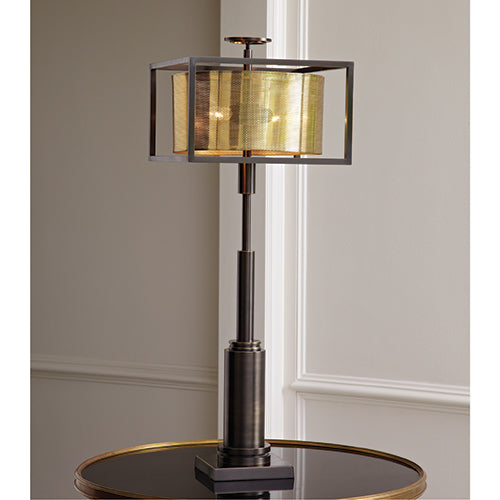Double Shade Table Lamp - Modern Studio Furniture