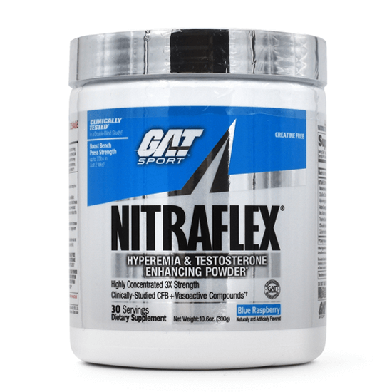 GAT Nitraflex pre-workout & Testosterone Booster - North Shore Nutrition Corner