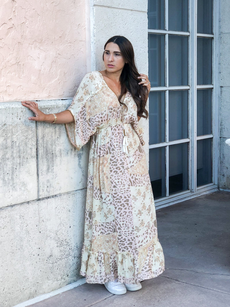 Mystic Kaftan Maxi Dress